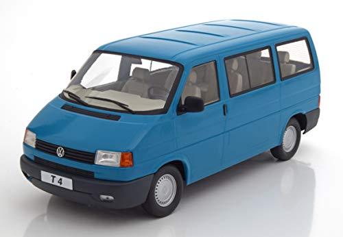 KK-Scale Volkwagen T4 Caravelle Bus Personen Transporter Türkis 1990-2003 1/18 Modell Auto mit individiuellem Wunschkennzeichen