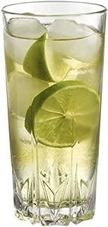 Highball Glasses - Crystal Drinking Glasses Set of 4 - Cocktail Glasses 10.5oz - Glass Water - Glassware Set - Large Bar Glasses - Housewarming Gift