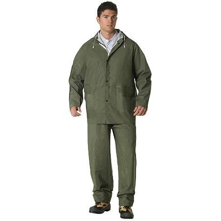 Wolfpack 15010009 Traje de Agua Impermeable Verde Pvc Talla 9-XXL