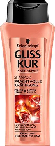 Schwarzkopf Gliss Kur Shampoo, prachtige versterking, 250 ml