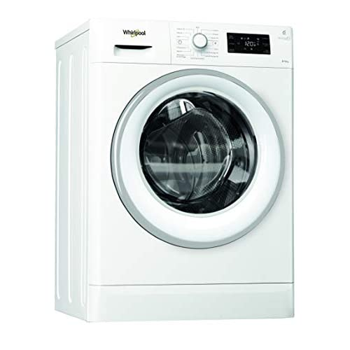 Whirlpool FWDG86148WS IT Lavasciuga a Libera Installazione, 8 Kg 6Kg, 14 Programmi, A, 1400 Giri/Min, Bianco