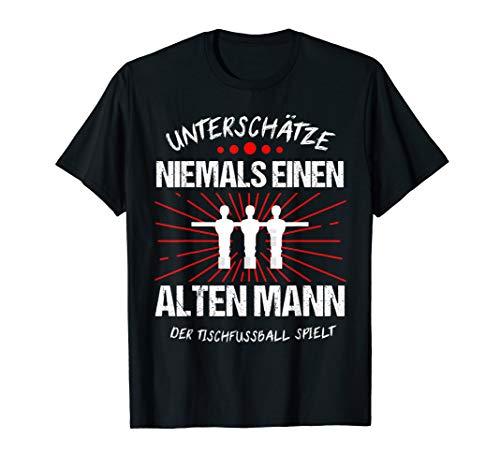 Herren Tischkicker Tischfußball Tischfußballer Kickern Geschenk T-Shirt