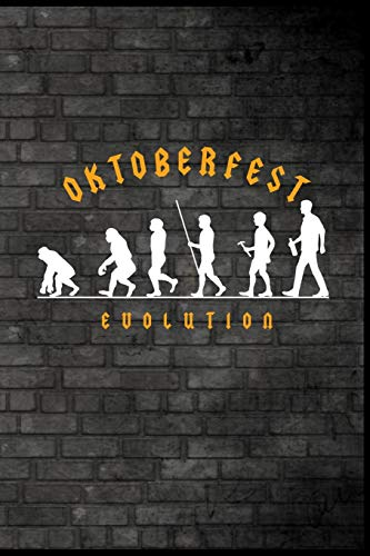 Oktoberfest Evolution: Bier Oktoberfest Bierkrug Brezel Bratwurst Dirndl Lederhosen Geschenk (6