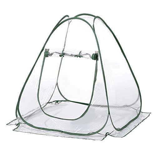Mini Kas, Bloempot Plant Warm Cover, Isolatie Beschermende Kamer, Tuinplanten Tent Achtertuin Bloemenopvang, Mini Tuin, 70 x 70 x 80 cm