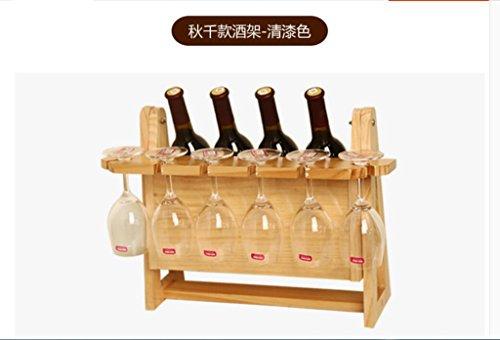 Kreative Weinregal, Flaschenregal, Wein Cupholder den Kopf stemware Regale, Weinregale, Weinkühler Weinregal, Dekoration