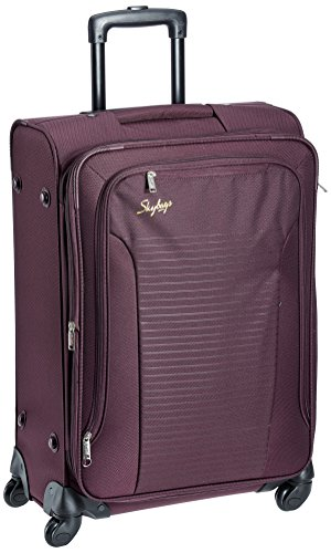 Skybags Footloose Napier Polyester 66 cms Raisin Soft Sided Suitcase (STNAPW66RRN)