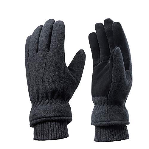 Acdyion Winter Herren und Damen 100% wasserdichte Handschuhe, Warm Futter aus 3M Thinsulate Winterhandschuhe Outdoor Skifahren Handschuhe