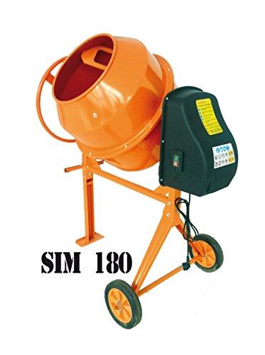 HORMIGONERA ELECTRICA MEZCLADOR SIM180 180L 800W 230V