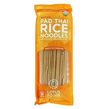 LOTUS FOODS Organic Brown Rice Pad Thai Noodles 8 OZ