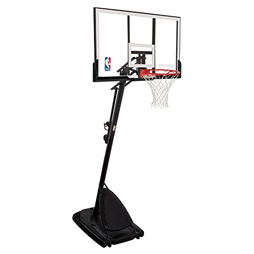 Spalding 66291 Pro Slam Portable Basketball System with 54-Inch...