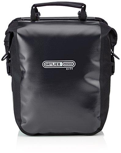 Ortlieb Gepäckträgertasche Sport-Roller City, schwarz, 30 x 25 x 14 cm, 25 Liter, F6002