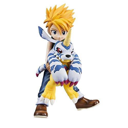 Digimon Adventure: Yamato Ishida & Gabumon PVC Figure - Hohe 4,13 Inches