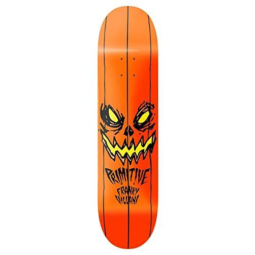 Primitive Villani Pumpkin Skateboard Deck 8.38 inch Black