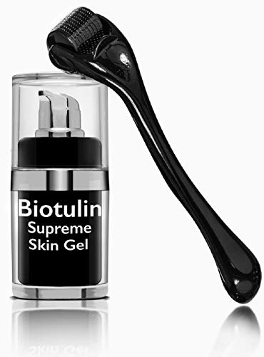 BIOTULIN - Supreme Skin Gel Facial Lotion, Reduces Wrinkles Skin Care Product, Anti Aging Treatment (15ml) with Skinroller