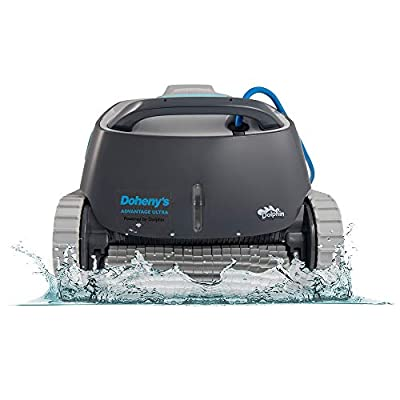 DOLPHIN Advantage Ultra Robotic Pool [Vacuum] Cleaner - Ideal for In Ground Swimming Pools up to 50 Feet - Exceptional Cleaning Power – Easy to Clean Top Load Filter Basket…