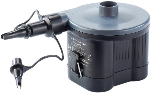 infactory Batteriebetriebene Pumpe: Elektrische Luftpumpe, Batteriebetrieb, 40 Watt (Elektrische Luftpumpe Batterie)