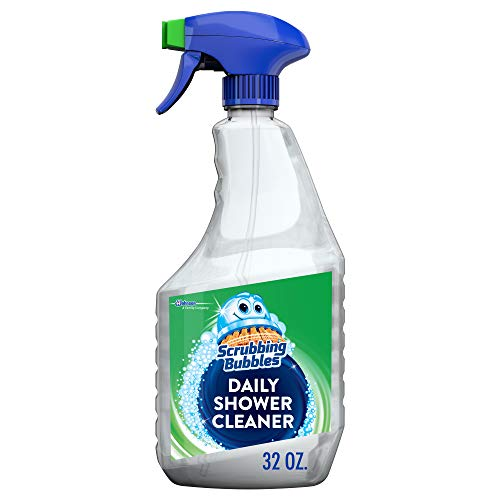 Scrubbing Bubbles Daily Shower and Bathroom Cleaner, Mildew and Mold Remover, Great on Tile, 32 oz