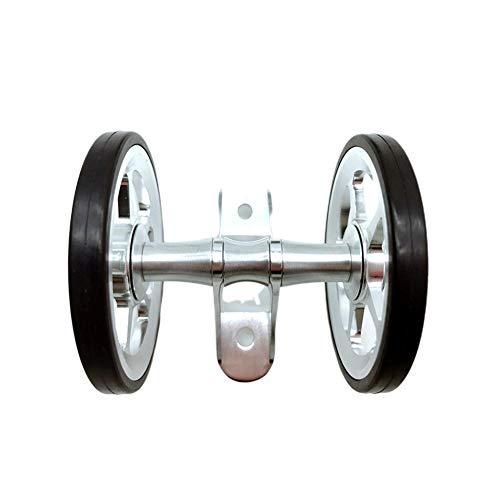 Cicony - Bicicletta pieghevole Easy Wheels Bike, doppia mudguard Wheel Rollers for Brompton