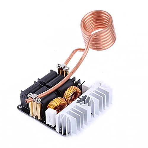 Placa de calentamiento por inducción ZVS, placa de calentamiento de corriente máxima de 20 A, calentador de controlador de retorno plateado para piezas pequeñas para el hogar, reproductores