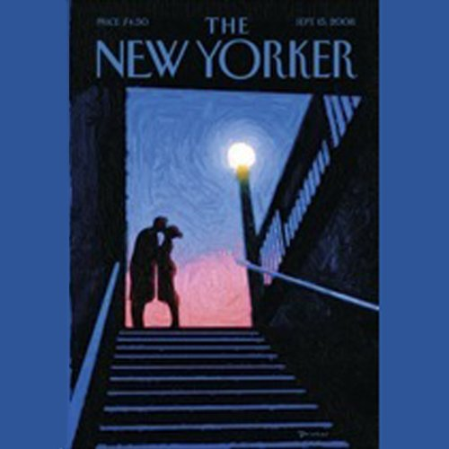 The New Yorker, September 15th, 2008 (Ariel Levy, Jennifer Kahn, Sasha Frere-Jones)                   By:                                                                                                                                 Ariel Levy,                                                                                        Jennifer Kahn,                                                                                        Sasha Frere-Jones                               Narrated by:                                                                                                                                 Dan Bernard,                                                                                        Christine Marshall                      Length: 1 hr and 46 mins     Not rated yet     Overall 0.0