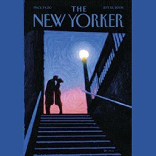 Couverture de The New Yorker, September 15th, 2008 (Ariel Levy, Jennifer Kahn, Sasha Frere-Jones)