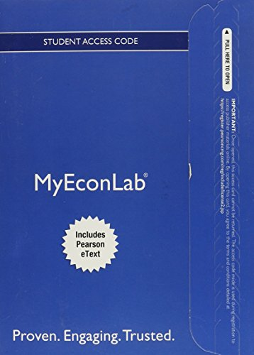 NEW MyLab Economics with Pearson eText -- Access Card -- for Managerial Economics and Strategy