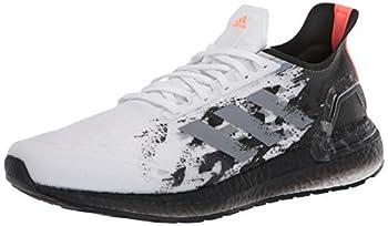 adidas Women s Ultraboost Personal Best Running Shoe White/Grey/Black 11 M US