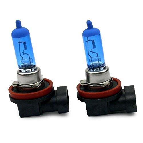 INION Xenon Style Lampen, Halogen Birne mit 55W, Xenon Look, vorne/hinten: Abblendlicht, H11, E-Prüfzeichen