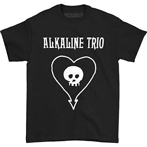 Preisvergleich Produktbild Alkaline Trio Men's Classic Heartskull T-Shirt Black