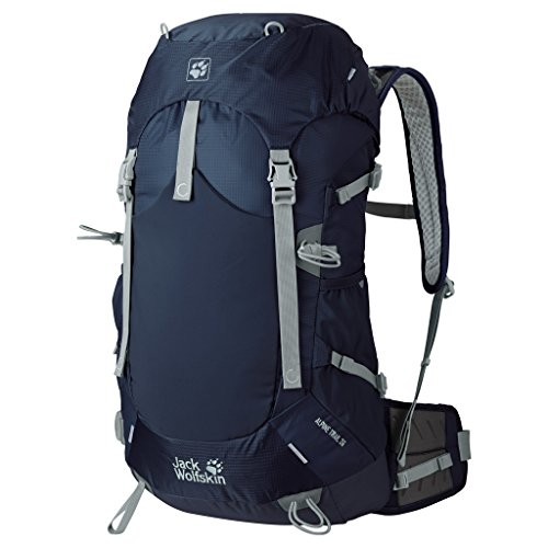Jack Wolfskin Trekking Backpack Alpine Trail 36, midnight blue, blue, 2003631