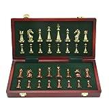 HTGW Schachbrett Schach Metall Schach Kontrolleure Backgammon Schachspiel Reise Kunststoff Schach Brettspiele Magnetische Schachfiguren Falten Schachbrett Geschenk Traditionelle Schachspiel