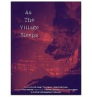 村が眠るときホットクラシック映画カバーウォールアートキャンバスプリントポスター画像リビングルーム家の装飾ギフト-60x80cmフレームなし