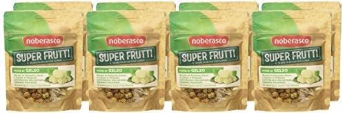 More di Gelso -Noberasco Superfrutti -Confezione da 8 pacchetti da 60gr- More di Gelso Essiccate