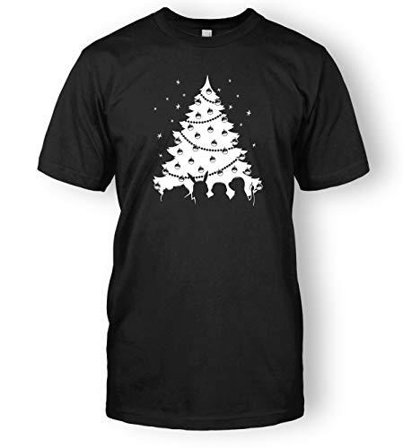 Limit Break Clothing Pokemon Christmas T-Shirt (XX-Large, Black)