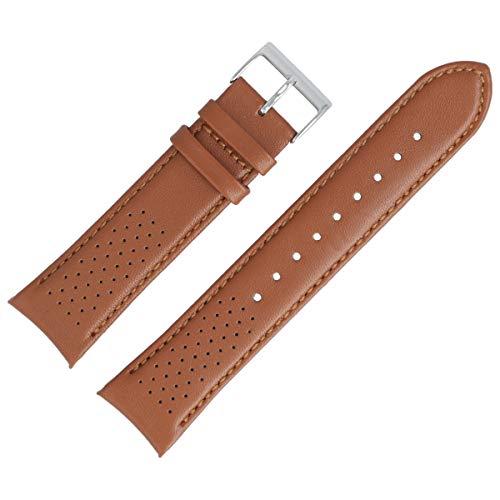 Hugo Boss Uhrenarmband 22mm Leder Braun - 659302763