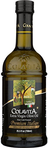 Colavita Premium Italian Extra Virgin Olive Oil, 25.5 fl. oz., Glass Bottle