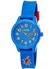 Lacoste Unisex-Child Quartz Watch, Analog Display and Silicone Strap 2030014
