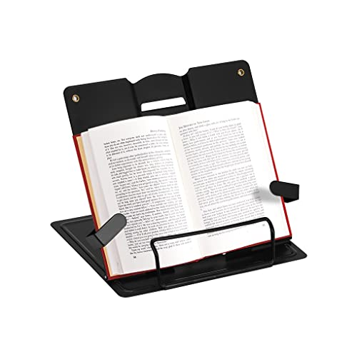 boekenstandaard Verstelbare metalen boekstandaard Draagbare leesboekhouder Ondersteuning Document Plank Boekstandaard…