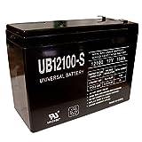 Universal Power Group 12V 10AH SLA Battery Replacement for Tonka 12V Dump Truck Model #8801-96