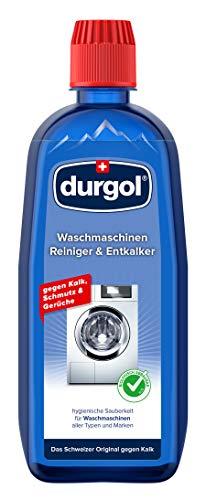 durgol Waschmaschinen Reiniger & Entkalker – Reinigt, pflegt und schützt den Innenraum jeder Waschmaschine – Biologisch abbaubar – 1x500ml