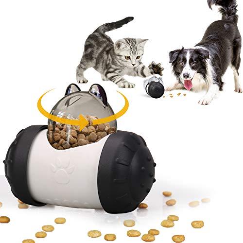 KINGLEAD Juguete para Perros,Juguete Dispensador de Golosinas para Mascota,Juguete para Comer Lentamente,Juguetes Interactivo para Perros,Gato,Divertido Juguete para Mascotas Pequeñas Mediana