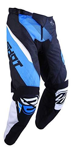 SHOT Kid Devo Ultimate - Pantalón de Cross, Color Negro y Azul, Talla 10/11a