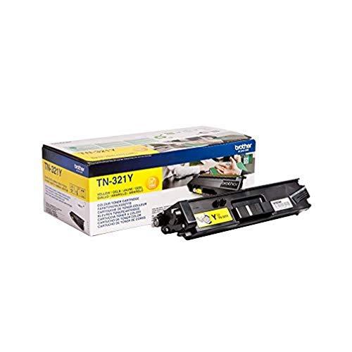 Brother Original Tonerkassette TN-321Y gelb (für Brother DCP-L8400CDN, DCP-L8450CDW, HL-L8250CDN, HL-L8350CDW, MFC-L8650CDW, MFC-L8850CDW)