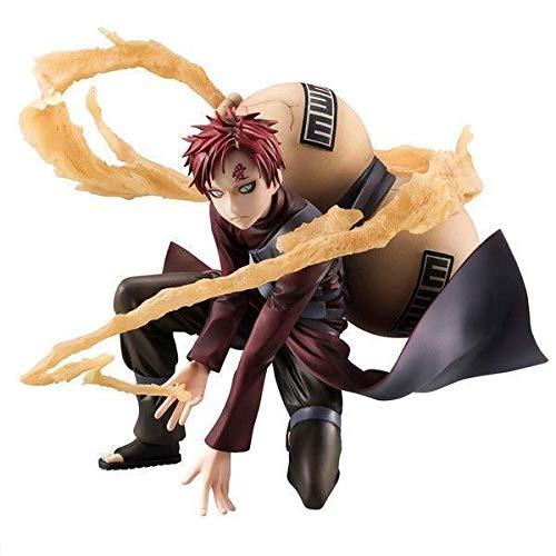 SDQDZZ Alto 15CM Naruto 5ta generación Fengying Blast of Wind Windland Sandy Village IRO Escultura Regalo Modelo Obra de Arte Anime