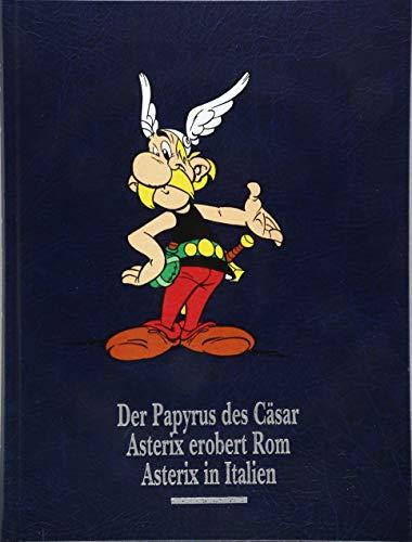 Asterix Gesamtausgabe 14: Der Papyrus des Cäsar, Asterix in Italien, Asterix erobert Rom