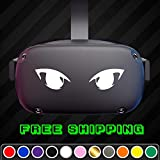 Anime Eyes Funny Vinyl Decal Fits: Oculus Quest/Rift PSVR Headset