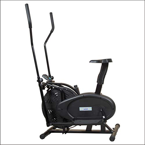 Aerofit Orbitrac Bike HF969 with Multi Assessment Read Out Display Time, 34x24x48-inch (Black)