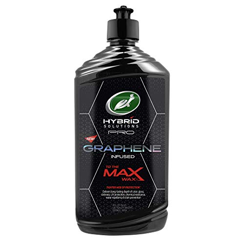 Turtle Wax 53479 Hybrid Solutions Pro to The Max Wax, Graphene Liquid Wax, 14 oz.