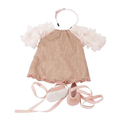 Götz 3402299 Kombination Boho Style - Puppenbekleidung Gr. XL - 4-teiliges Bekleidungs- und Zubehörset für Stehpuppen von 45 - 50 cm