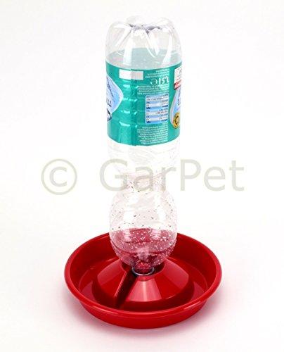 Nager Vogel Geflügel Hühner Küken Kaninchen Tränke Tränkeschale für PET Flasche